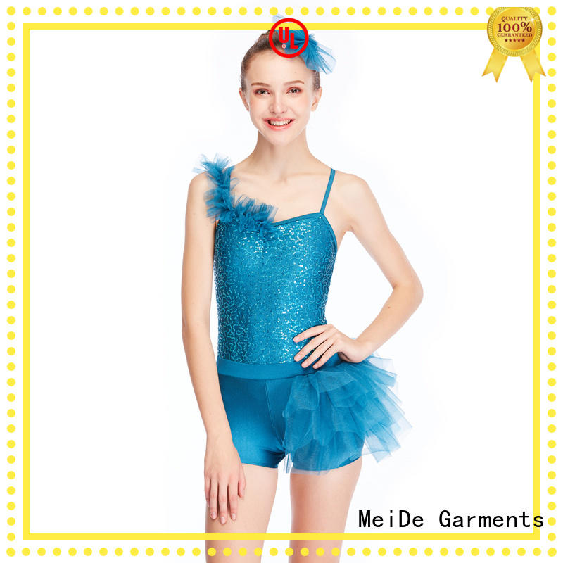 MIDEE anti-wear kids ballet dress bulk production dancer