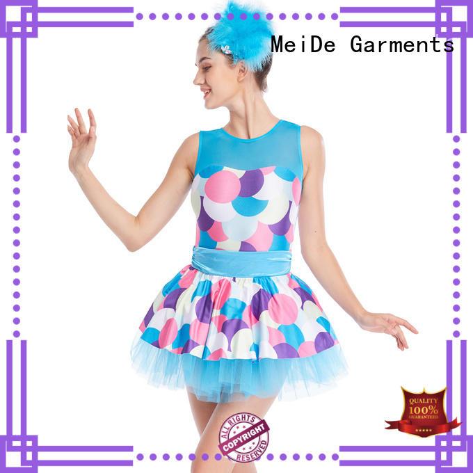 MIDEE adjustable toddler ballet clothes odm dance school