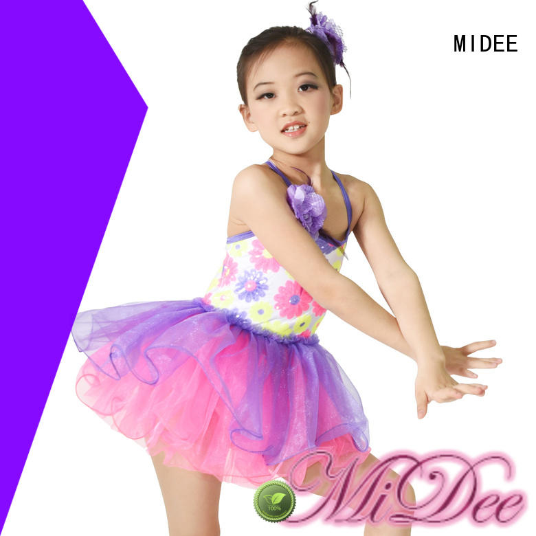 MIDEE waistband ballet leotards factory price dance school