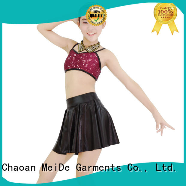 MIDEE jazz dance outfits customization show