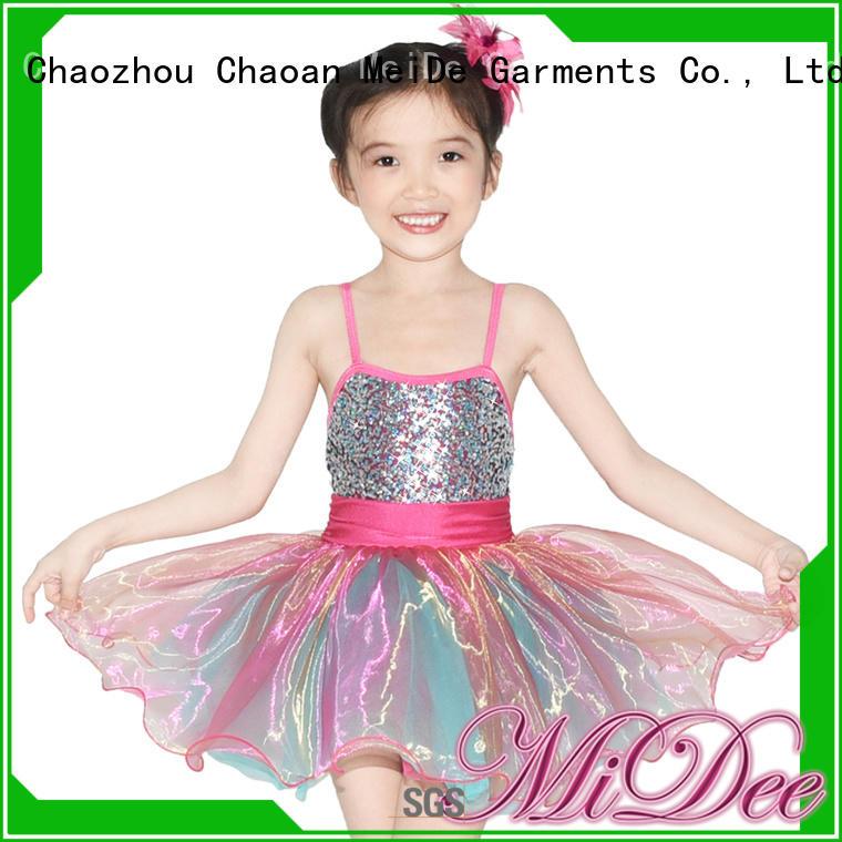 MIDEE comfortable girls ballet costume factory price performance