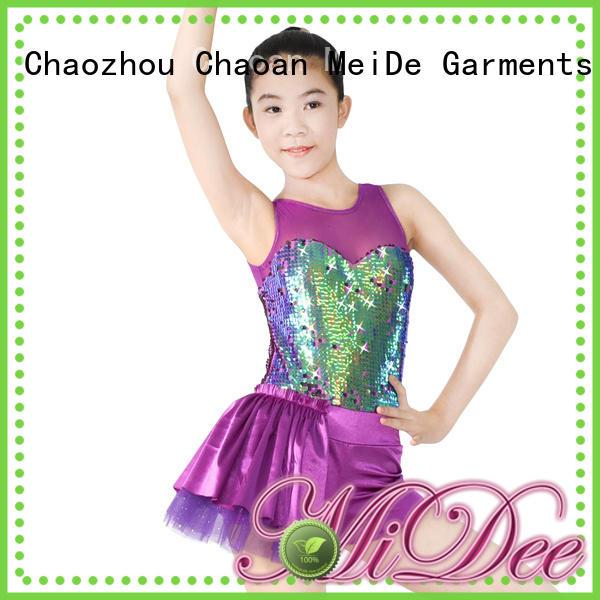 MIDEE anti-wear kids ballet outfit odm dance school
