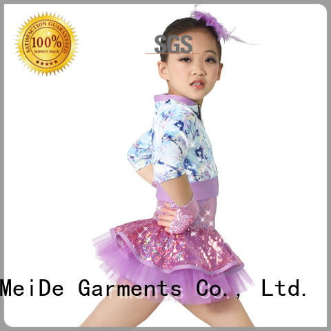 MIDEE jazz dance outfits skirt dance school