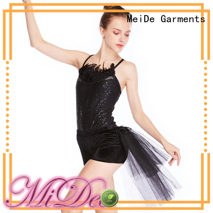 MIDEE highlow ballet skirt odm Stage