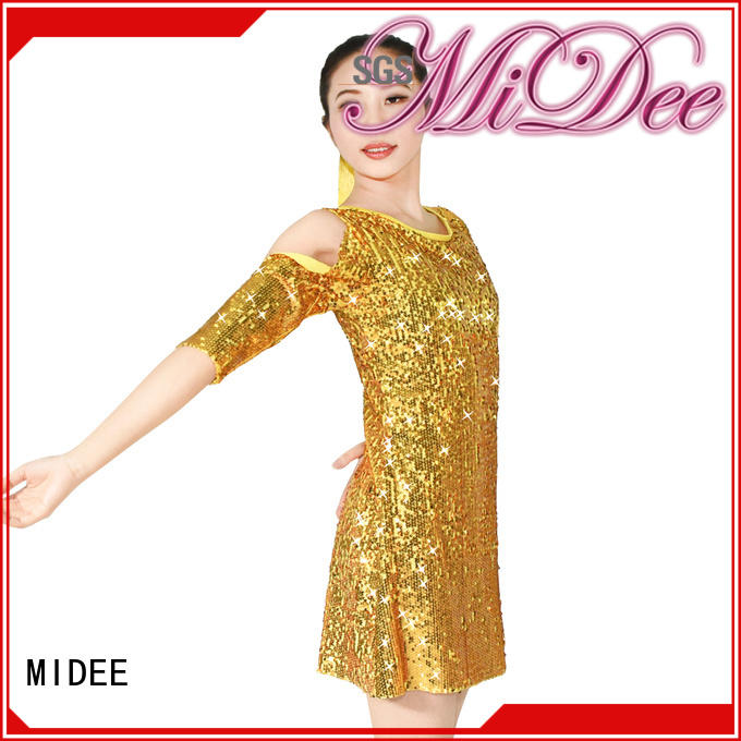 MIDEE dance jazz costumes for competition manufacturer show