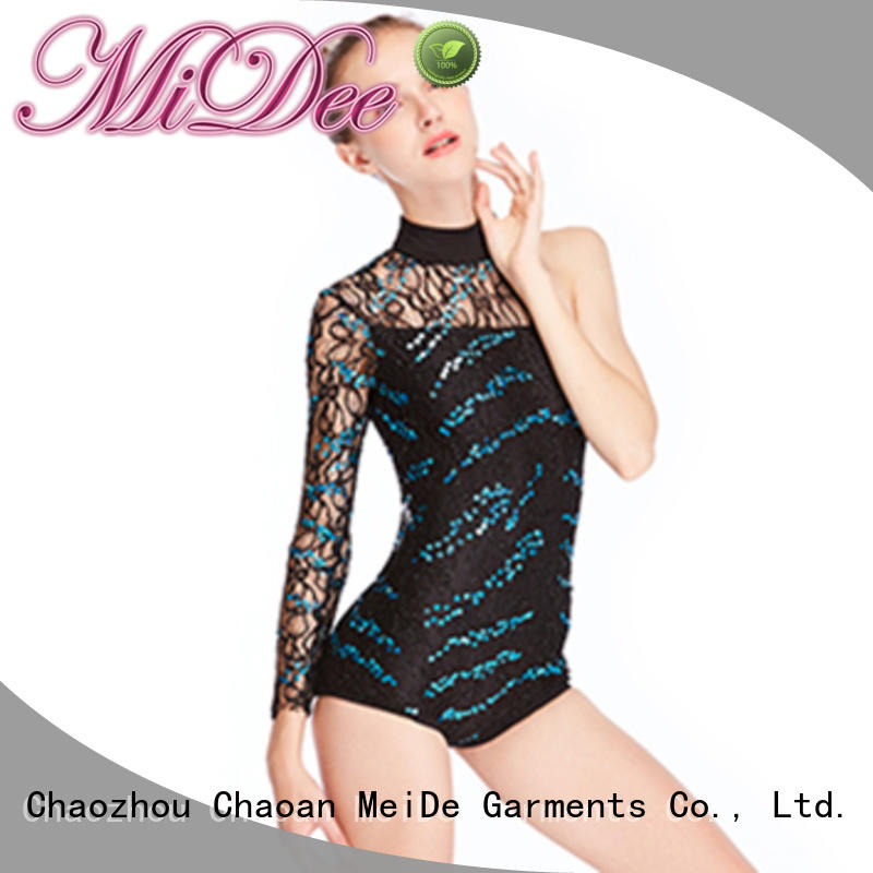 MIDEE odm girls jazz costumes for wholesale performance