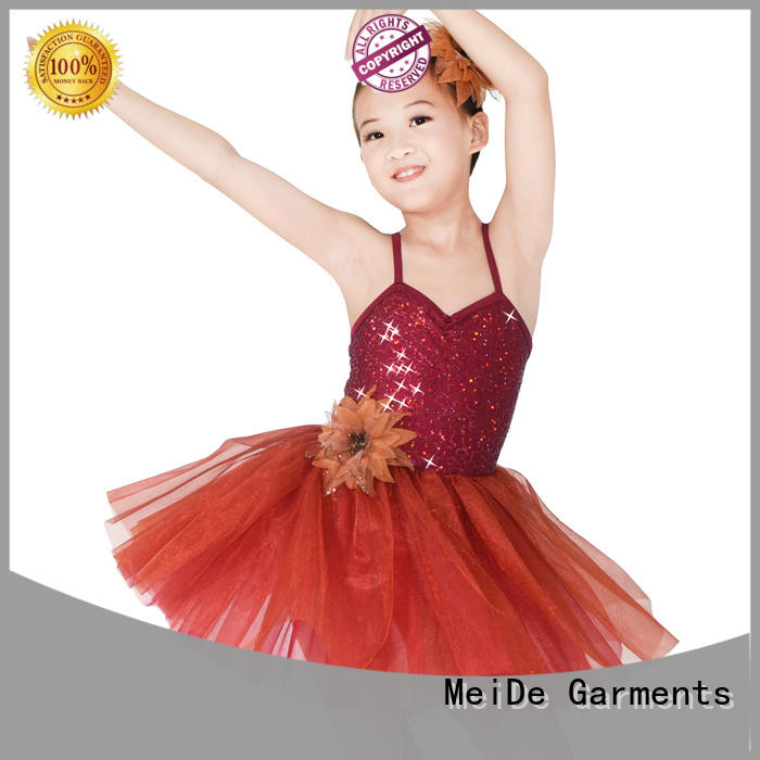 comfortable kids ballet outfit wide bulk production competition