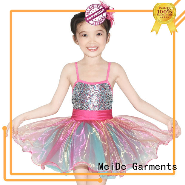 MIDEE anti-wear kids ballet dress factory price show