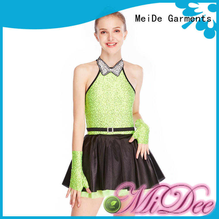 MIDEE dance jazz dance dress customization Stage