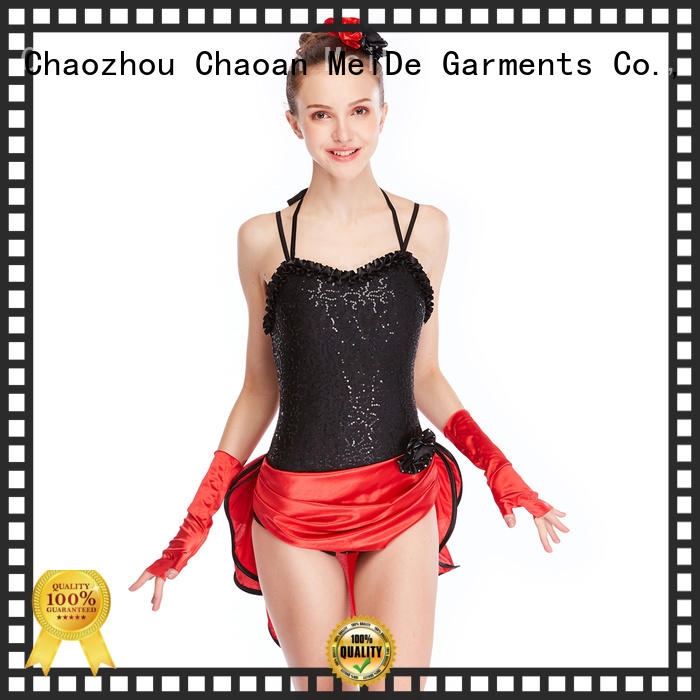 professional dress jazz outfits ladies fringed customization competition
