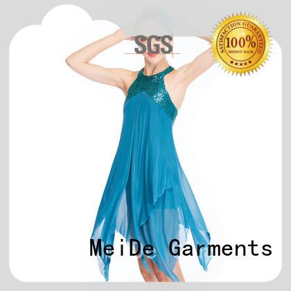 MIDEE OEM lyrical dress costume modern competition