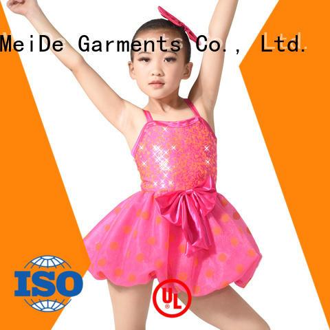 anti-wear ballet leotards for girls black factory price dance school