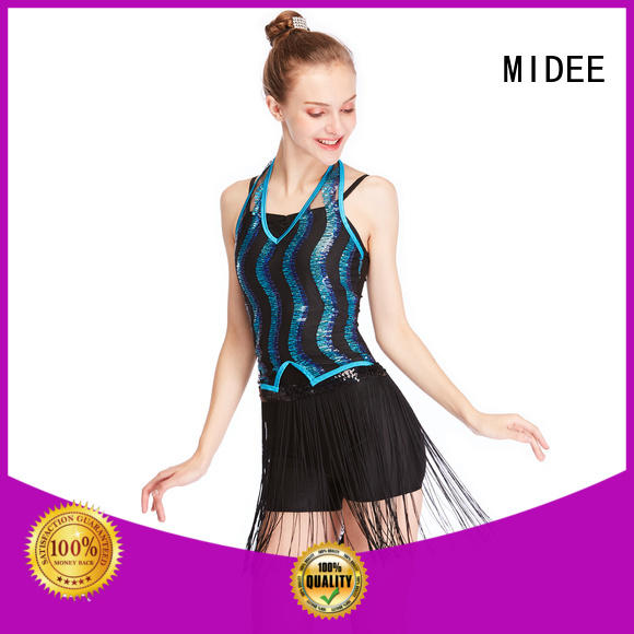 MIDEE contrasting jazz solo costumes manufacturer competition