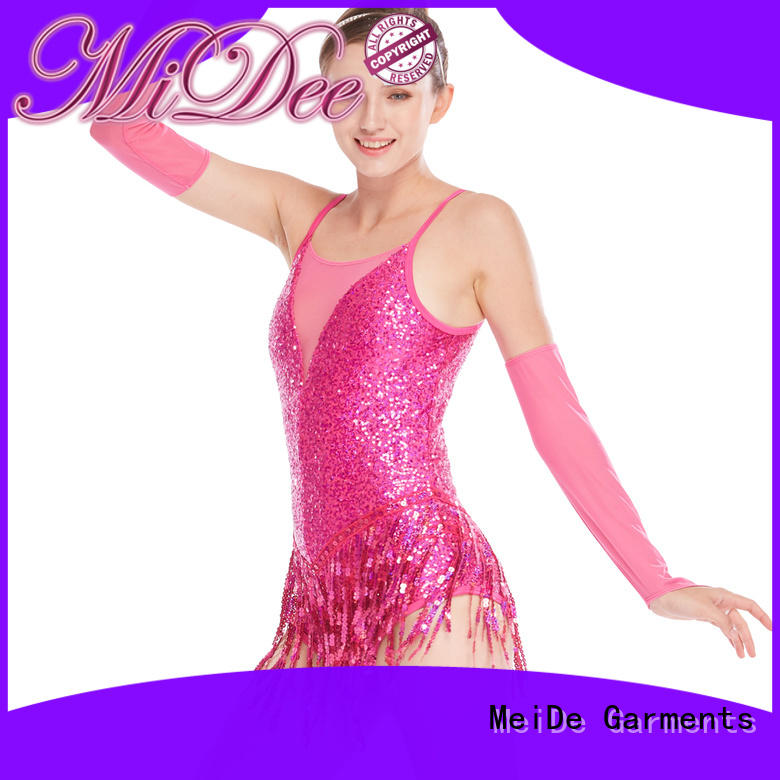MIDEE tap jazz dance costumes customization Stage