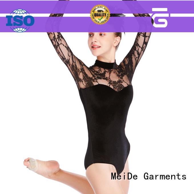 MIDEE swan ballet leotards for girls odm dancer