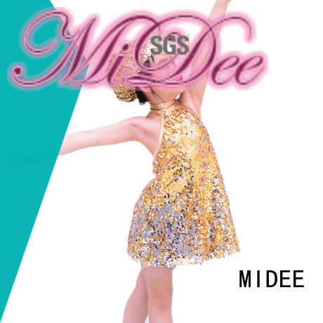 MIDEE professional dress jazz outfits for wholesale dance school