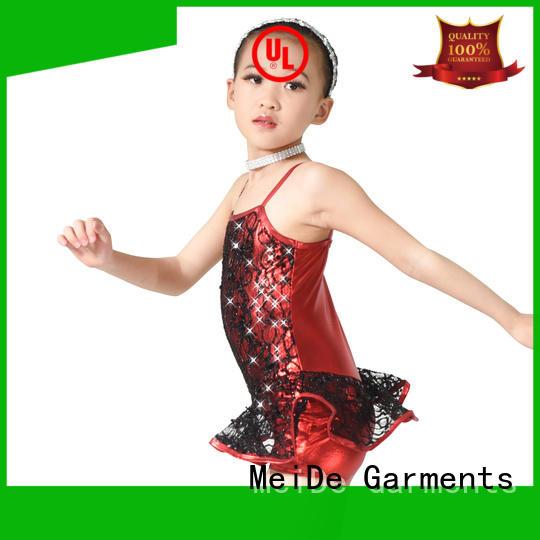 MIDEE professional dress jazz dance dress customization show