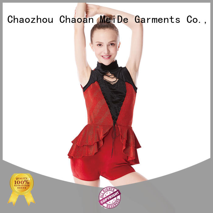 MIDEE odm jazz leotards for wholesale competition