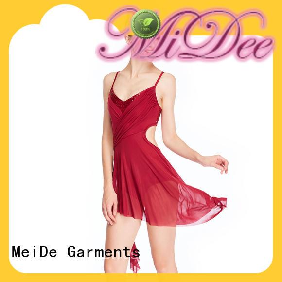 OEM lyrical dance outfits camisole custom show