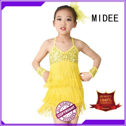 MIDEE waistband girls ballet outfit odm performance
