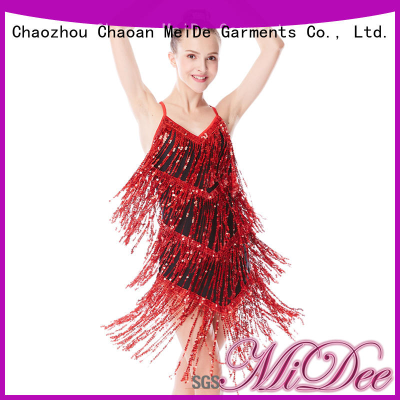 MIDEE sequins tap dance costumes for wholesale Stage