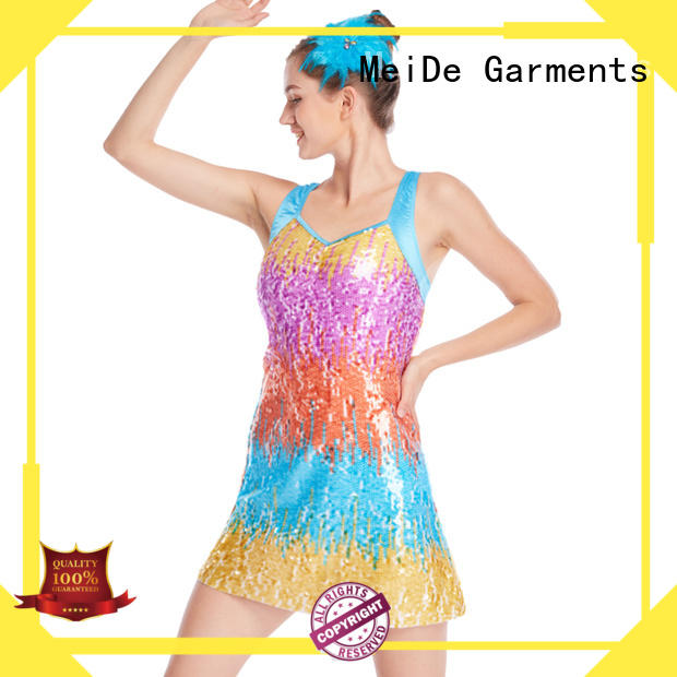 MIDEE dress jazz costumes dance solo customization performance