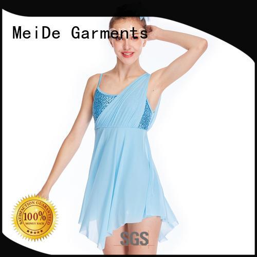 OEM lyrical dance dresses dance clothes show