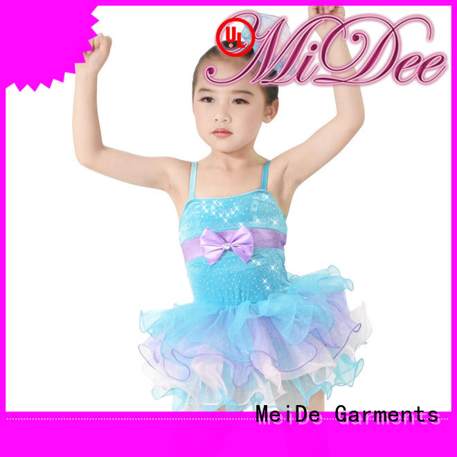 adjustable kids ballet dress lace odm performance
