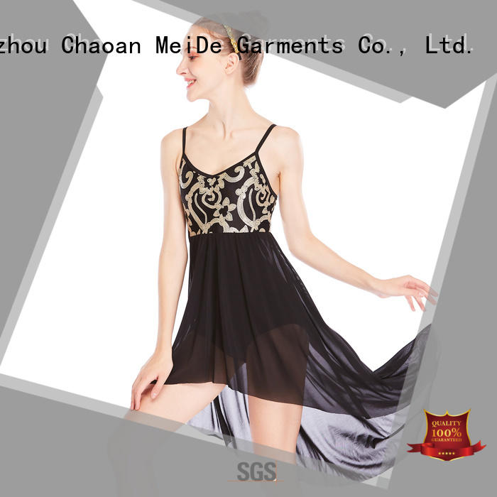 MIDEE OEM custom lyrical dance costumes custom competition