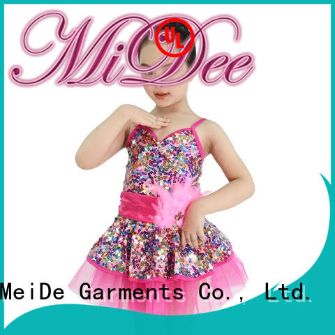 anti-wear dance costumes ballet highlow factory price Stage
