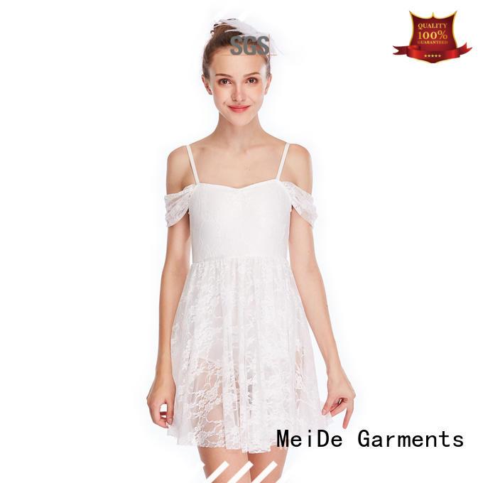 customization lyrical dress oneshoulder dance clothes competition