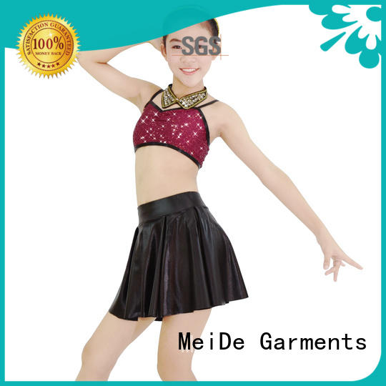 MIDEE skirt jazz costumes dance solo for wholesale competition