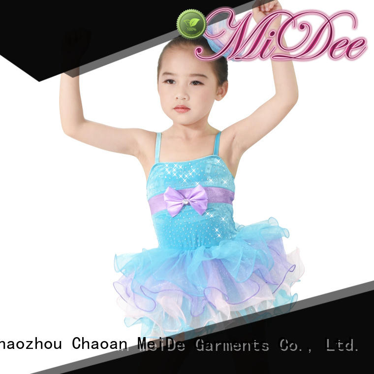 MIDEE adjustable kids ballet clothes bulk production dance school
