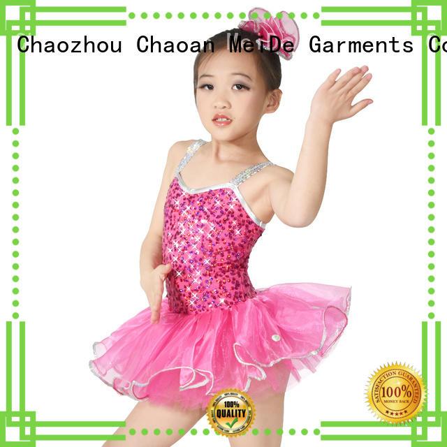 MIDEE anti-wear kids ballet dress odm show