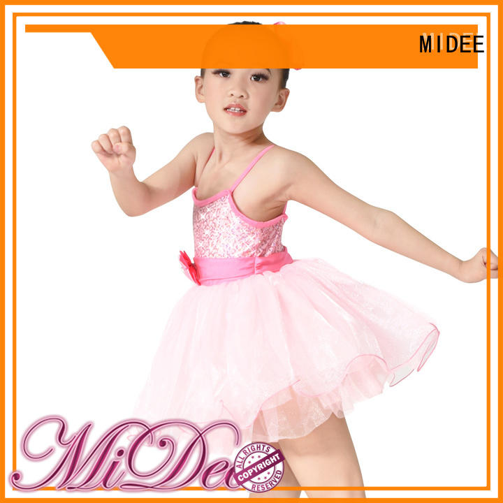 MIDEE highlow ballet dress toddler odm show