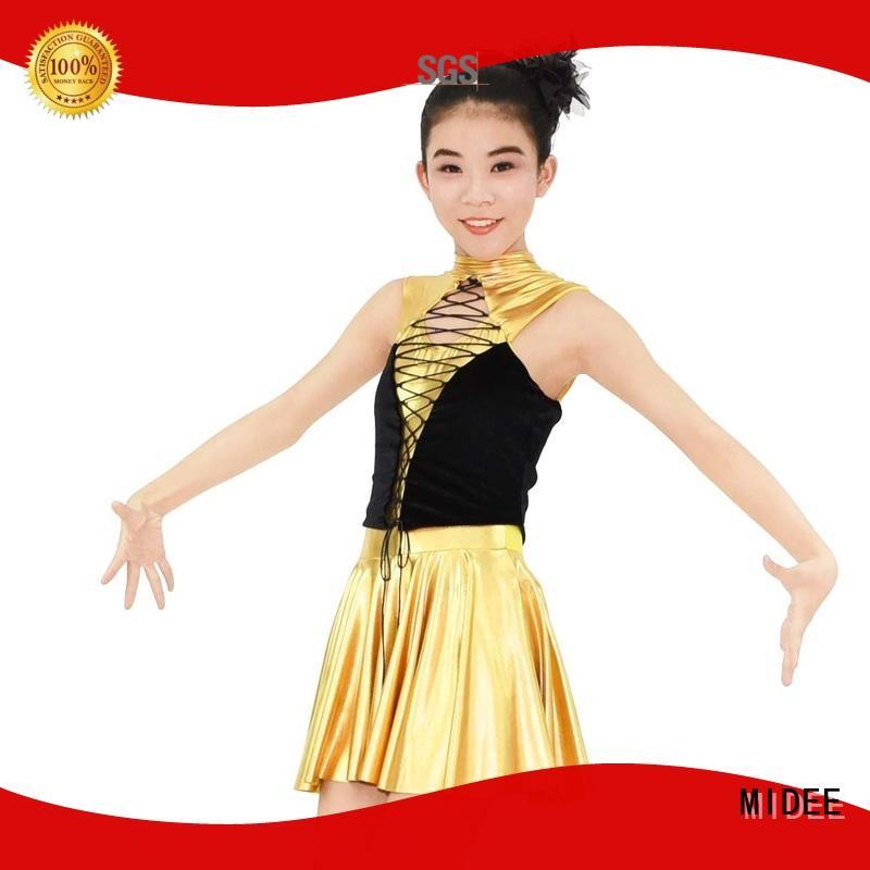 MIDEE sequins girls jazz costumes manufacturer dancer
