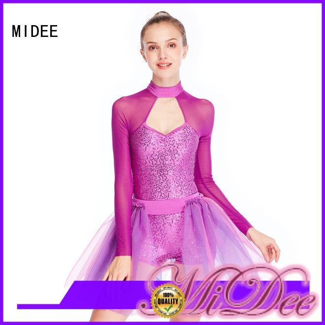 MIDEE anti-wear ballet costumes factory price dancer