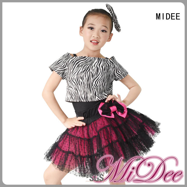 anti-wear kids ballet outfit velvet factory price dancer