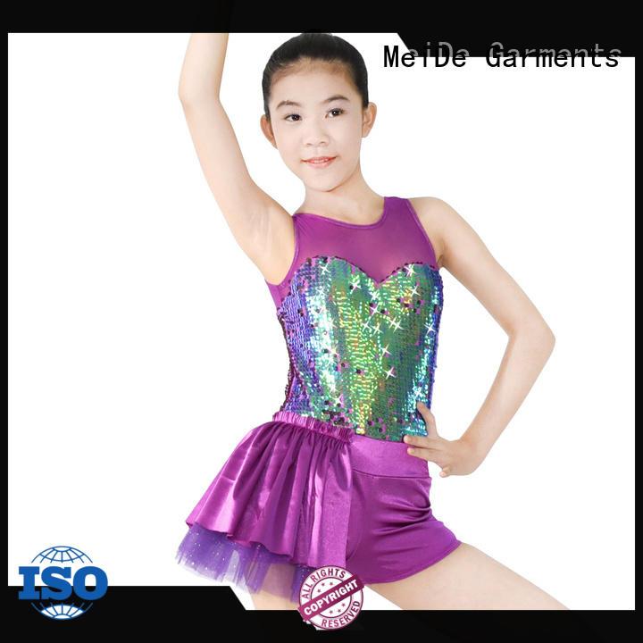 MIDEE adjustable ballet leotards for girls factory price dancer