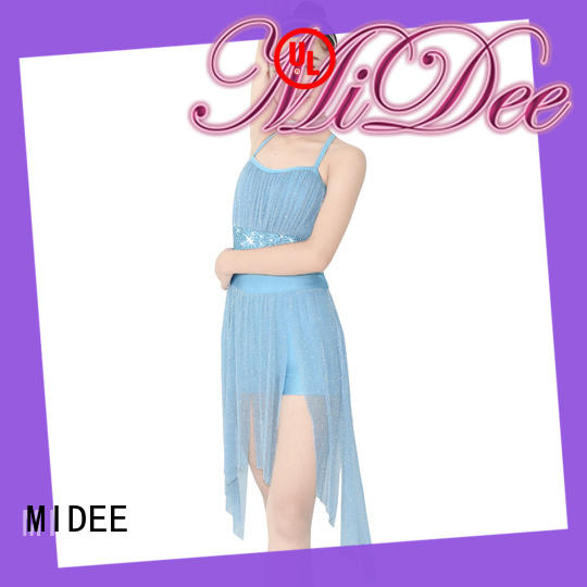 MIDEE OEM lyrical dress costume dress show
