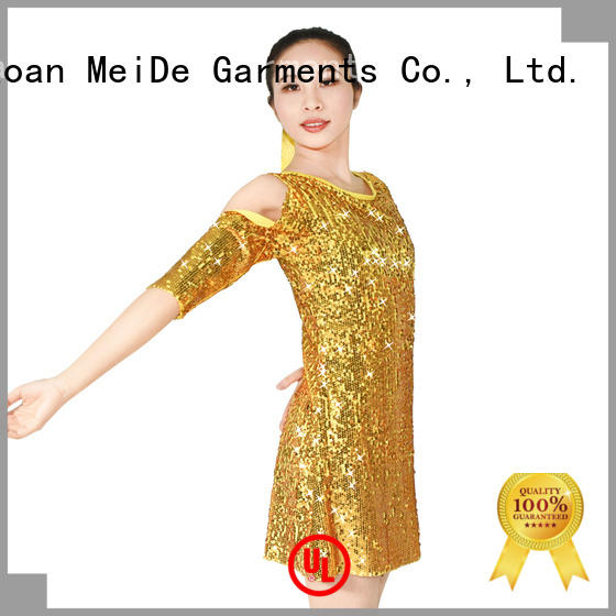 MIDEE sequins jazz outfits for wholesale performance