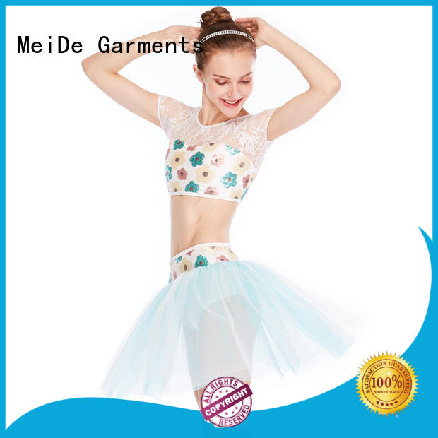 MIDEE comfortable ballet costumes odm competition