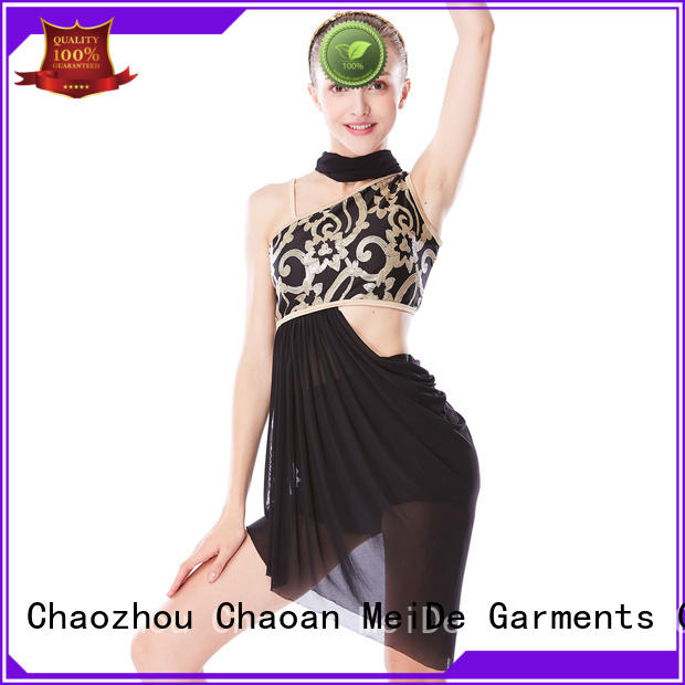 MIDEE OEM custom lyrical dance costumes dance clothes competition