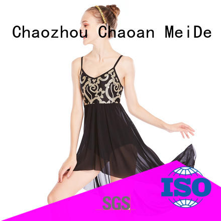 OEM lyrical dance outfits round custom competition