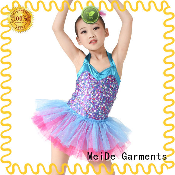 MIDEE lace ballet dresses for girl factory price show