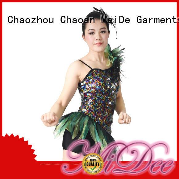 MIDEE professional dress girls jazz costumes manufacturer dancer
