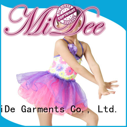 MIDEE anti-wear kids ballet outfit factory price show