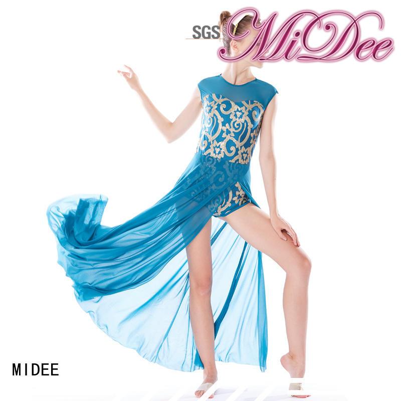 MIDEE crop lyrical dancewear custom competition