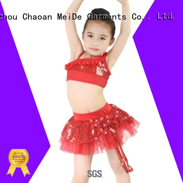 MIDEE comfortable kids ballet clothes bulk production dancer