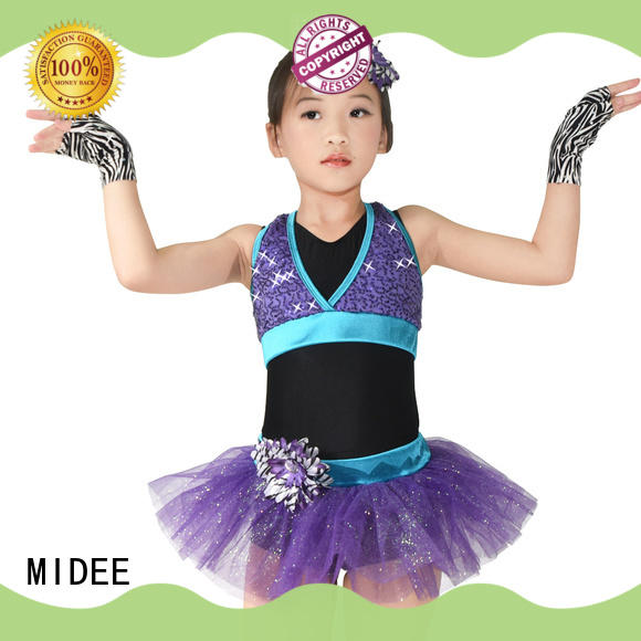 MIDEE tires toddler ballet outfit bulk production Stage